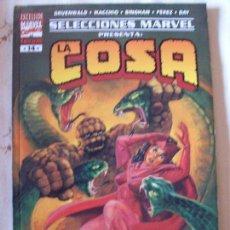 Cómics: LA COSA SELECCIONES MARVEL 14 170 PAGINAS LA SAGA DE LA CORONA SERPIENTE. Lote 172180428