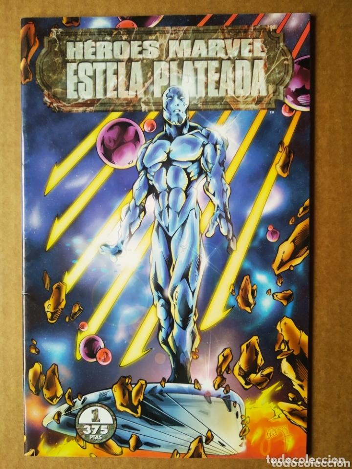 HÉROES MARVEL N°1: ESTELA PLATEADA. COMICS FORUM (15 ANIVERSARIO). INCLUYE UNA HISTORIA INÉDITA (Tebeos y Comics - Forum - Silver Surfer)