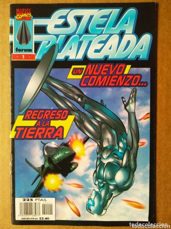 ESTELA PLATEADA N°1-2-3 (CÓMICS FORUM, 1998). POR PEREZ Y DEMATTEIS. 'UN NUEVO COMIENZO' (Tebeos y Comics - Forum - Silver Surfer)