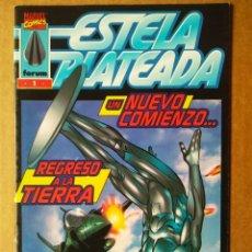 Cómics: ESTELA PLATEADA N°1-2-3 (CÓMICS FORUM, 1998). POR PEREZ Y DEMATTEIS. 'UN NUEVO COMIENZO'. Lote 172269664