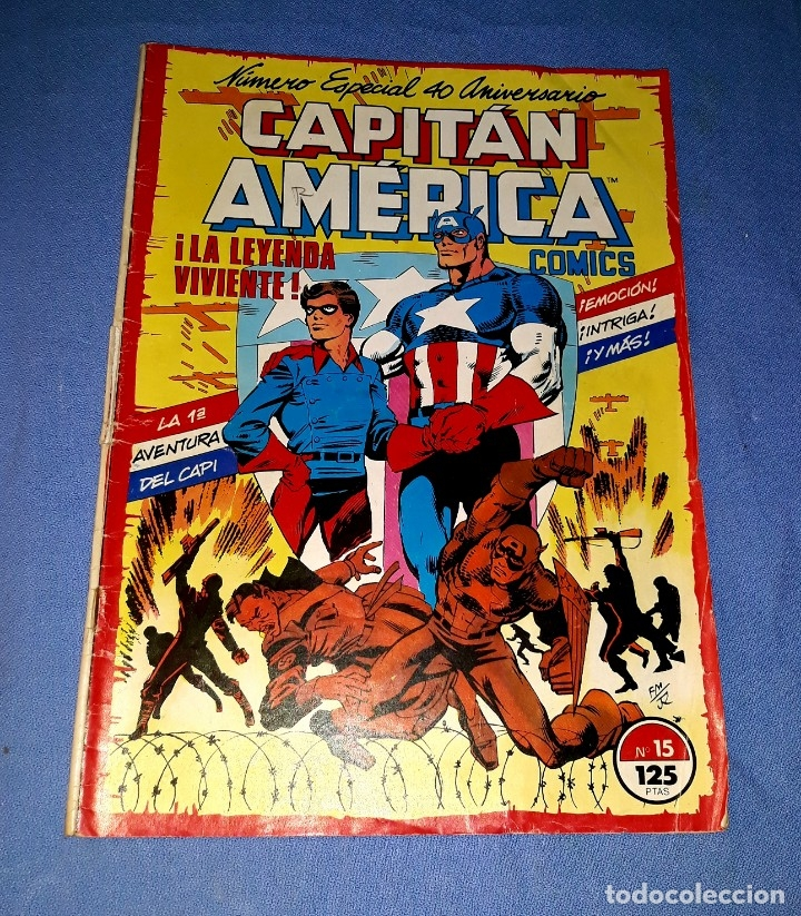 CAPITAN AMERICA COMICS FORUM MARVEL Nº 15 DESDE 1 EURO ORIGINAL VER FOTO Y DESCRIPCION (Tebeos y Comics - Forum - Capitán América)