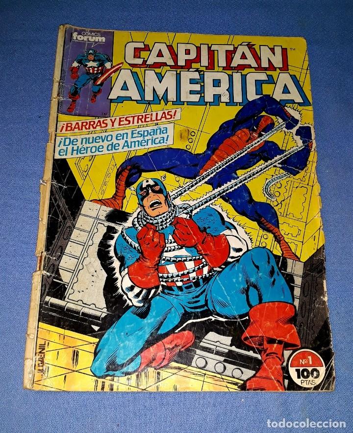 CAPITAN AMERICA COMICS FORUM MARVEL Nº 1 DESDE 1 EURO ORIGINAL VER FOTO Y DESCRIPCION (Tebeos y Comics - Forum - Capitán América)