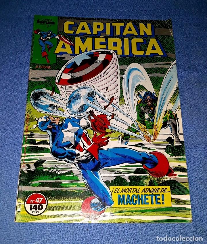 CAPITAN AMERICA COMICS FORUM MARVEL Nº 47 DESDE 1 EURO ORIGINAL VER FOTO Y DESCRIPCION (Tebeos y Comics - Forum - Capitán América)
