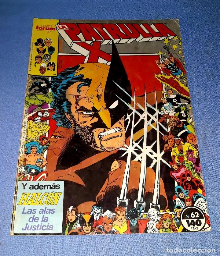 PATRULLA X COMICS FORUM MARVEL Nº 62 DESDE 1 EURO ORIGINAL VER FOTO Y DESCRIPCION (Tebeos y Comics - Forum - Patrulla X)