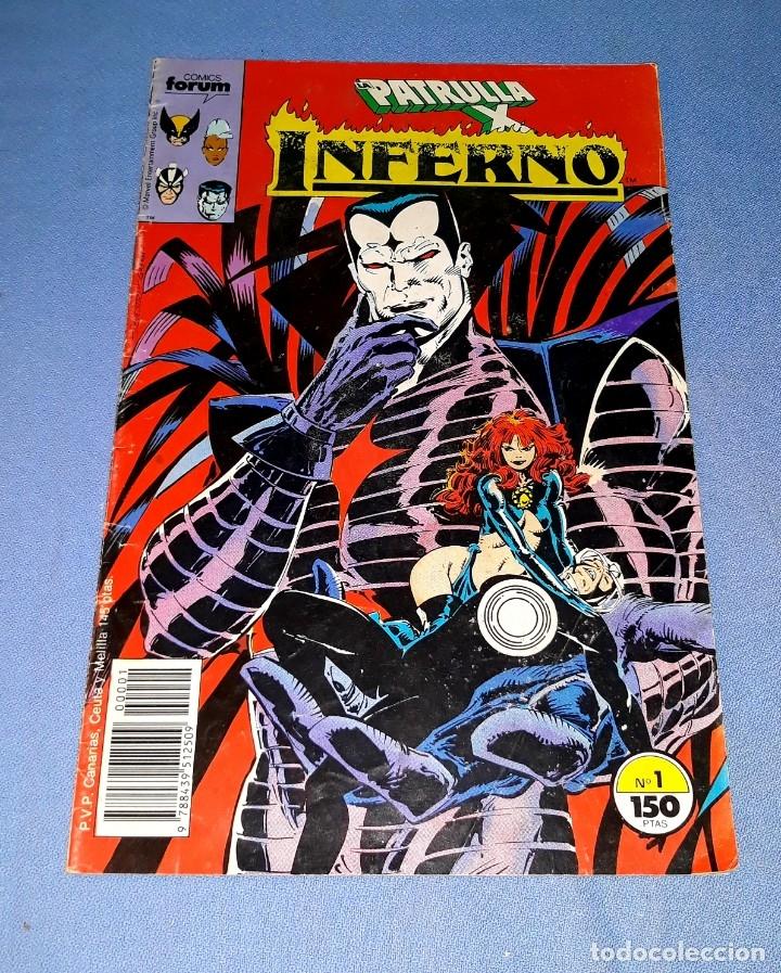 PATRULLA X COMICS FORUM MARVEL Nº 1 DESDE 1 EURO ORIGINAL VER FOTO Y DESCRIPCION (Tebeos y Comics - Forum - Patrulla X)