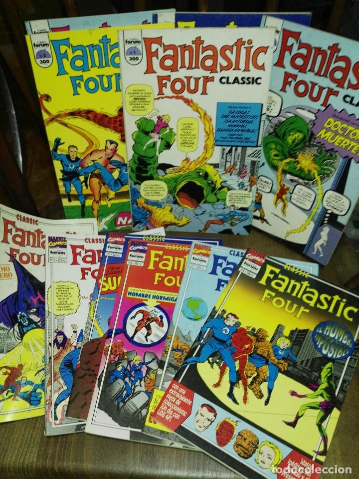 CLASSIC FANTASTIC FOUR COMPLETA FORUM (Tebeos y Comics - Forum - 4 Fantásticos)