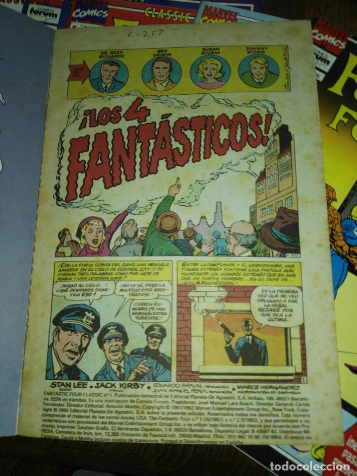 Cómics: Classic fantastic Four completa Forum - Foto 3 - 172314183