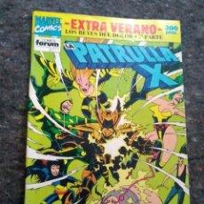 Cómics: LA PATRULLA X EXTRA VERANO 1992 - LOS REYES DEL DOLOR 3ª PARTE - INCLUYE EL POSTER DE LEIALOHA. Lote 172329065