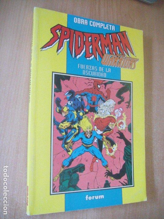 SPIDERMAN/NEW WARRIORS - OBRA COMPLETA - ED. FORUM (Tebeos y Comics - Forum - Retapados)