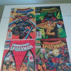 Cómics: SPIDERMAN - ENEMIGOS LETALES - COMPLETA. Lote 172371859