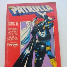 Comics : PATRULLA-X VOL.1 RETAPADO TOMO 19 - NUM. 126-127-128-129-130 MARVEL FORUM CS182. Lote 172380572
