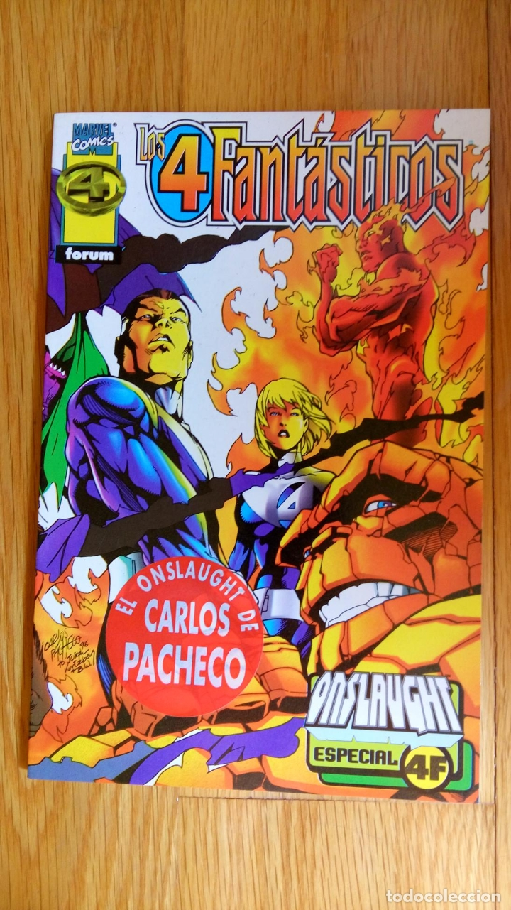4FANTÁSTICOS: ONSLAUGHT (Tebeos y Comics - Forum - Prestiges y Tomos)