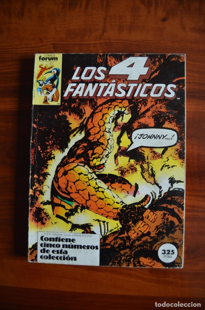 4 FANTÁSTICOS (VOL 1) 41-45 (Tebeos y Comics - Forum - Retapados)