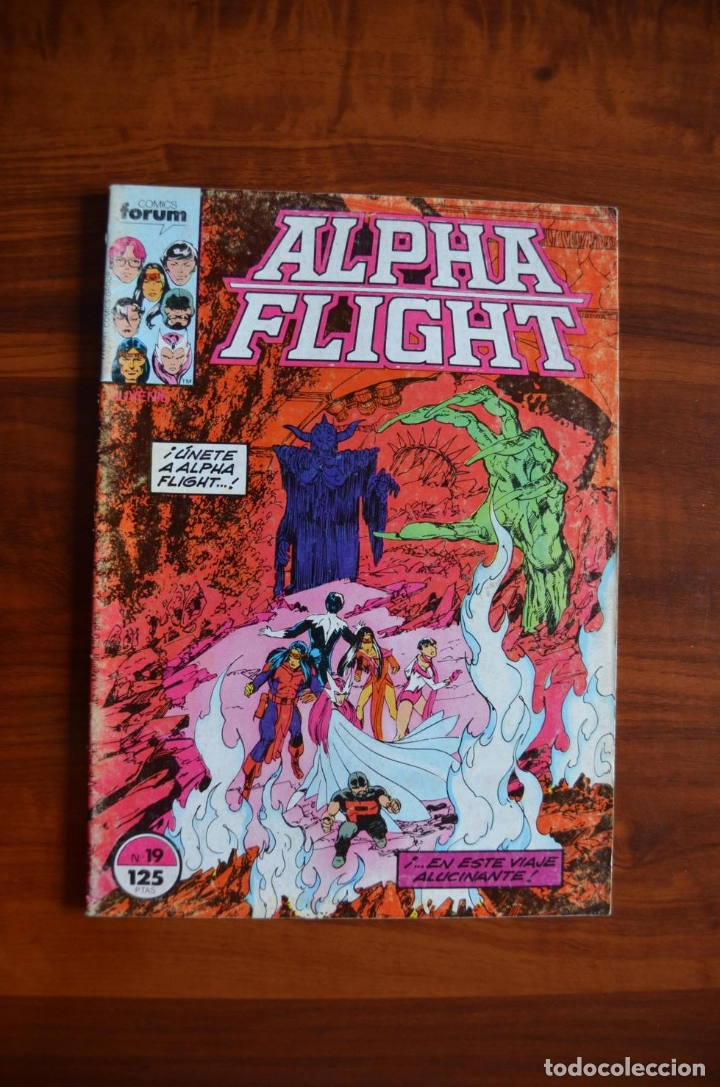 ALPHA FLIGHT/ LA MASA (VOL 1) 19 (Tebeos y Comics - Forum - Alpha Flight)