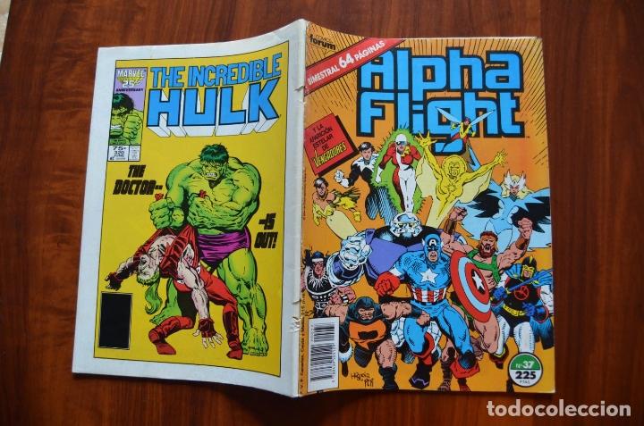 Cómics: Alpha Flight/ La Masa (vol 1) 37 - Foto 2 - 172434652