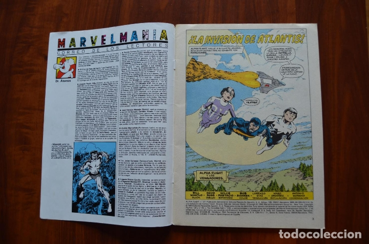 Cómics: Alpha Flight/ La Masa (vol 1) 37 - Foto 5 - 172434652