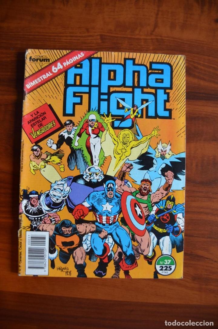 ALPHA FLIGHT/ LA MASA (VOL 1) 37 (Tebeos y Comics - Forum - Alpha Flight)