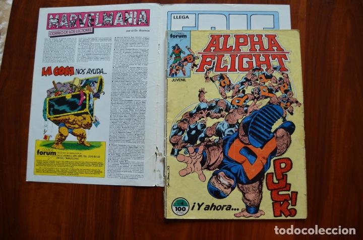 Cómics: Alpha Flight/ La Masa (vol 1) 4 - Foto 2 - 172434657