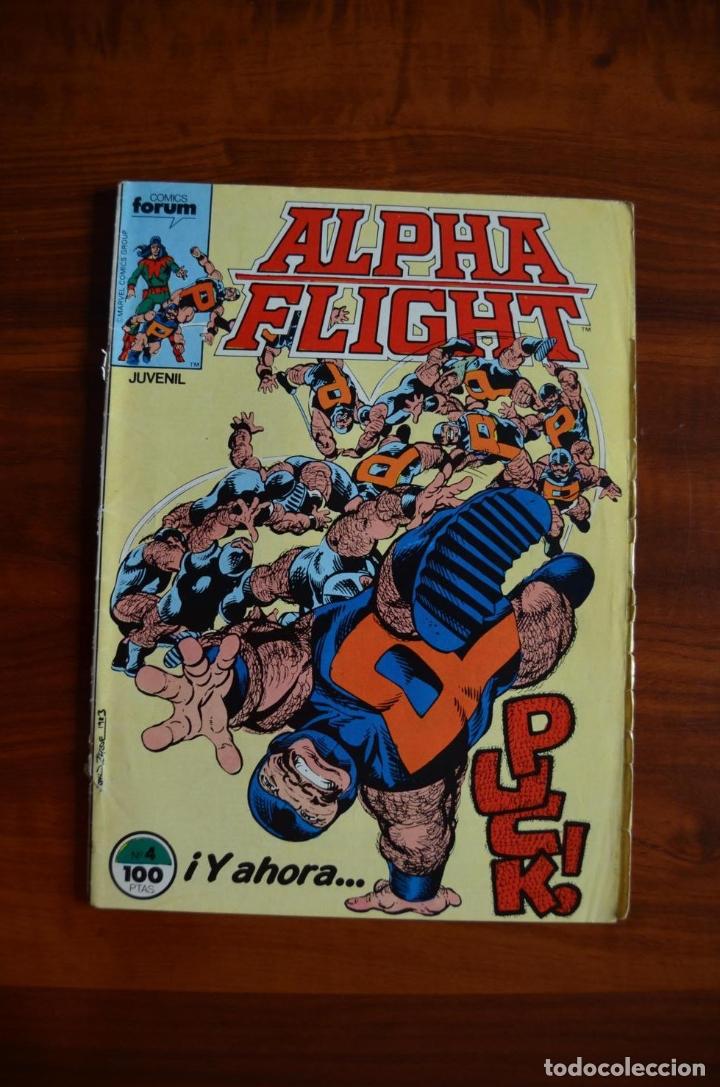 ALPHA FLIGHT/ LA MASA (VOL 1) 4 (Tebeos y Comics - Forum - Alpha Flight)
