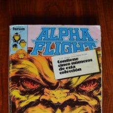 Cómics: ALPHA FLIGHT (VOL 1) 6-10. Lote 172434757