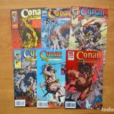 Cómics: CONAN EL AVENTURERO 1 AL 6. Lote 172435858