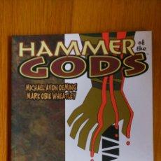 Cómics: HAMMER OF THE GODS. Lote 172442255