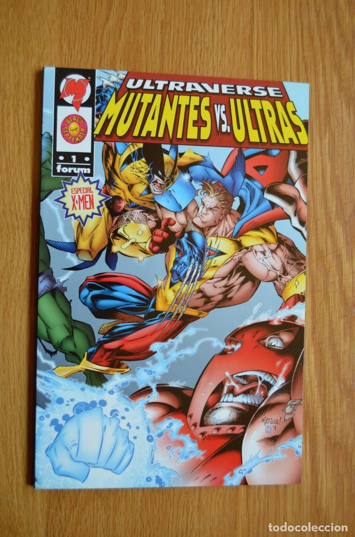 MUTANTES VS ULTRAS (Tebeos y Comics - Forum - Prestiges y Tomos)