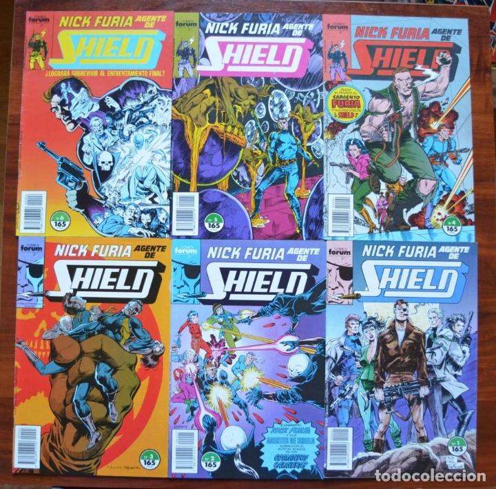 NICK FURIA, AGENTE DE SHIELD (VOL 1) 1 AL 6 (Tebeos y Comics - Forum - Furia)
