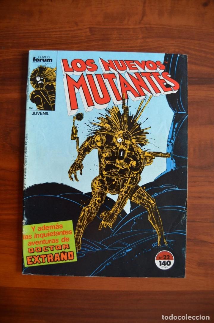 NUEVOS MUTANTES 22 (Tebeos y Comics - Forum - Nuevos Mutantes)