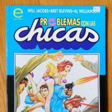 Cómics: PROBLEMAS CON LAS CHICAS. Lote 172446373