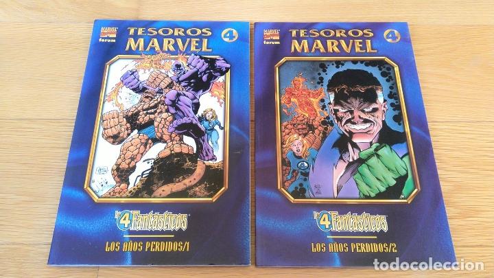 Cómics: Tesoros Marvel: Los 4 Fantásticos 1 y 2 - Foto 2 - 172449392