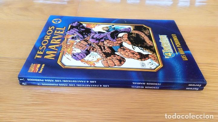 Cómics: Tesoros Marvel: Los 4 Fantásticos 1 y 2 - Foto 3 - 172449392