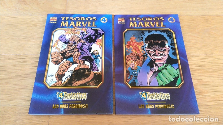 TESOROS MARVEL: LOS 4 FANTÁSTICOS 1 Y 2 (Tebeos y Comics - Forum - Prestiges y Tomos)