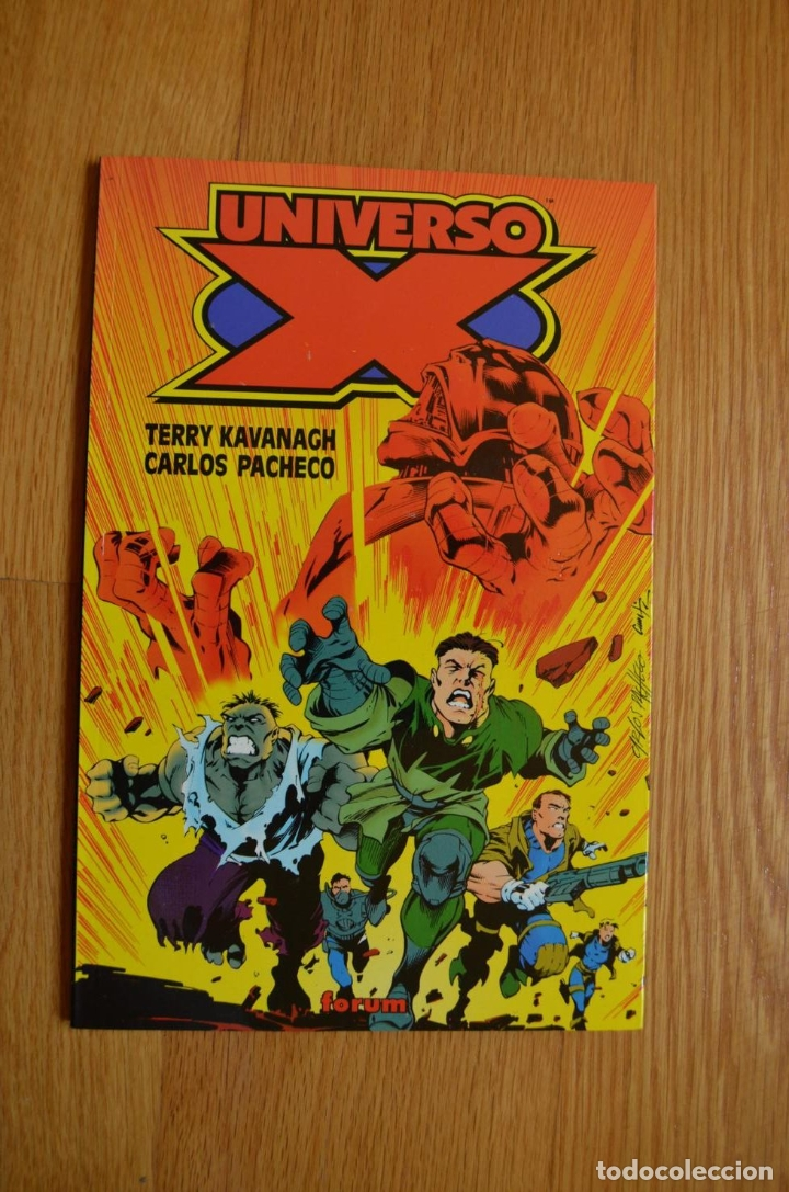 UNIVERSO-X (Tebeos y Comics - Forum - Prestiges y Tomos)