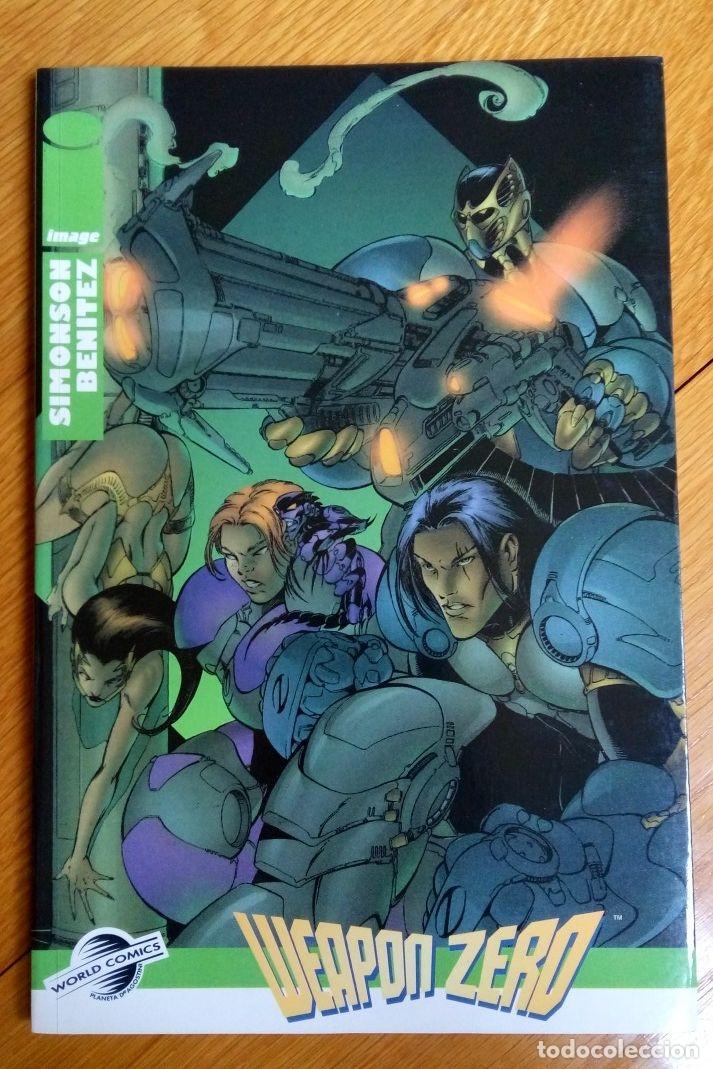 WEAPON ZERO TOMO (Tebeos y Comics - Forum - Prestiges y Tomos)