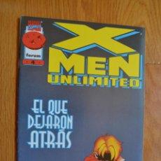 Cómics: X-MEN UNLIMITED 4. Lote 172451309