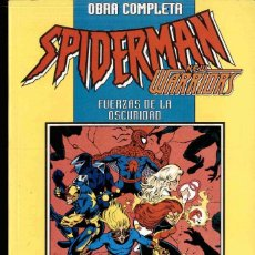 Comics: SPIDERMAN/NEW WARRIORS, FUERZAS DE LA OSCURIDAD, - OBRA COMPLETA -. Lote 172644990