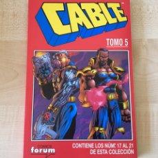 Comics: CABLE TOMO 5 FORUM (NÚMEROS DEL 17 AL 21). Lote 172695088