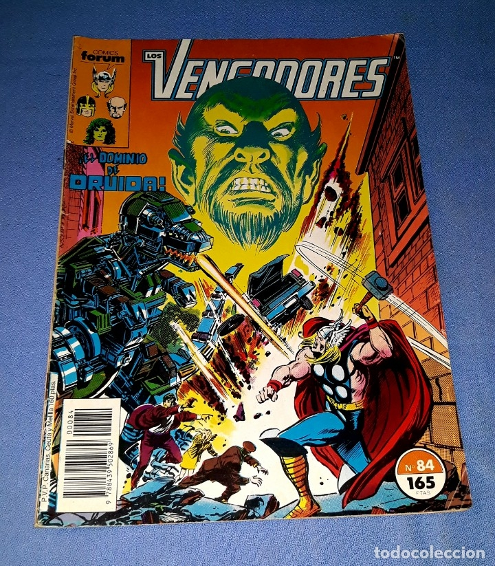 LOS VENGADORES COMICS FORUM MARVEL Nº 84 DESDE 1 EURO ORIGINAL VER FOTO Y DESCRIPCION (Tebeos y Comics - Forum - Vengadores)