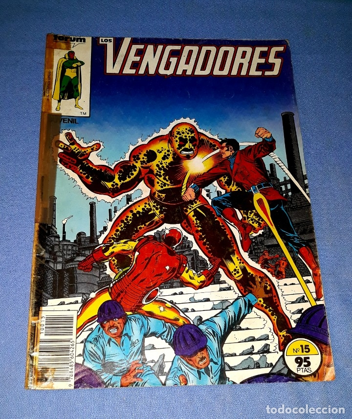 LOS VENGADORES COMICS FORUM MARVEL Nº 15 DESDE 1 EURO ORIGINAL VER FOTO Y DESCRIPCION (Tebeos y Comics - Forum - Vengadores)