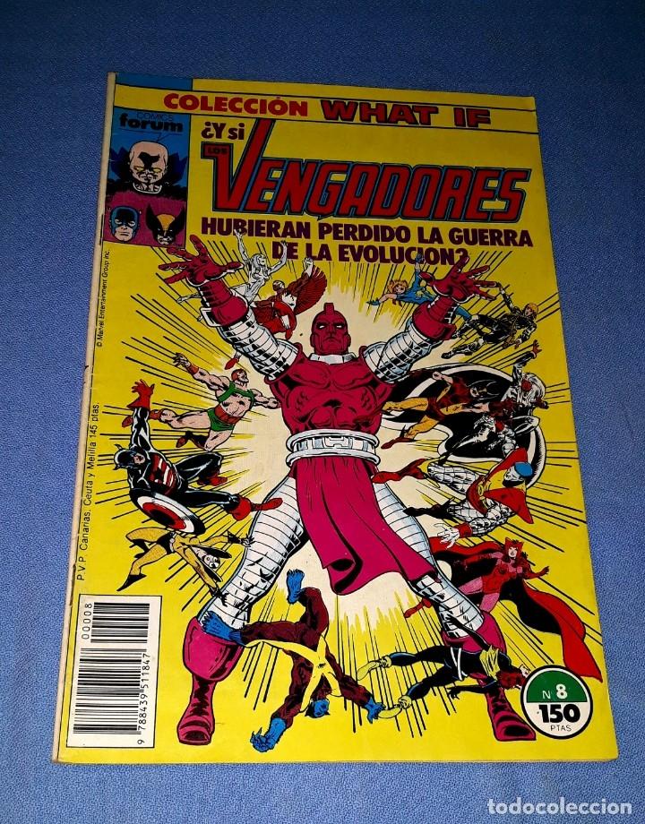 LOS VENGADORES COMICS FORUM MARVEL Nº 8 DESDE 1 EURO ORIGINAL VER FOTO Y DESCRIPCION (Tebeos y Comics - Forum - Vengadores)