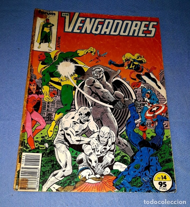 LOS VENGADORES COMICS FORUM MARVEL Nº 14 DESDE 1 EURO ORIGINAL VER FOTO Y DESCRIPCION (Tebeos y Comics - Forum - Vengadores)