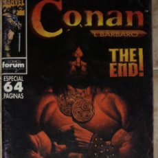 Cómics: CONAN EL BARBARO N 213 THE END ULTIMO NUMERO ESPECIAL 64 PAGINAS FORUM COMICS. Lote 172806838