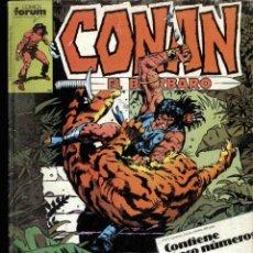 Cómics: CONAN, EL BÁRBARO CONTIENE LOS NºS 151 AL 155. Lote 172826778