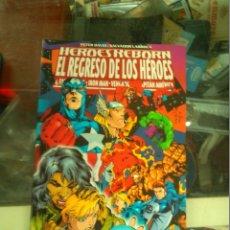 Cómics: HEROES REBORN EL REGRESO DE LOS HEROES. Lote 172847265