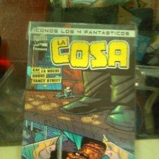 Cómics: ICONOS LOS 4 FANTÁSTICOS: LA COSA - CAE LA NOCHE SOBRE YANCY STREET. Lote 172847468