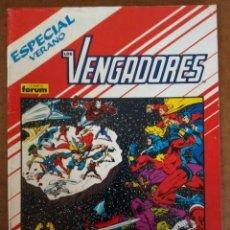 Fumetti: LOS VENGADORES VOL. 1 1ª EDICION ESPECIAL VERANO 1988 - FORUM - BUEN ESTADO. Lote 172250925