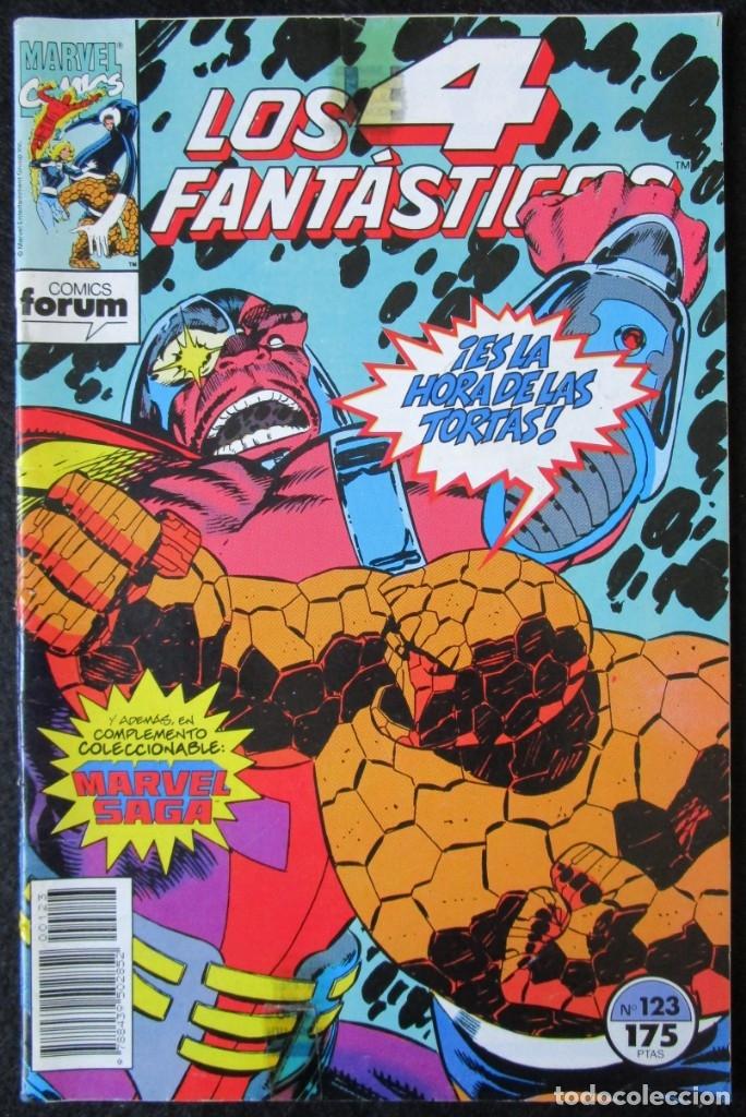 LOS 4 FANTÁSTICOS Nº 123 - FORUM (Tebeos y Comics - Forum - 4 Fantásticos)
