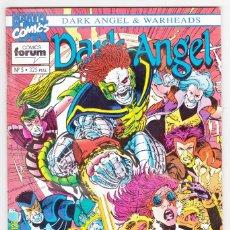 Cómics: DARK ANGEL & WARHEADS Nº 5 - FORUM -. Lote 172923742