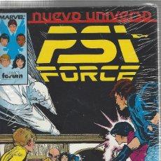 Cómics: PSI FORCE - NUEVO UNIVERSO MARVEL - COMPLETA - 12 NºS . Lote 172997493